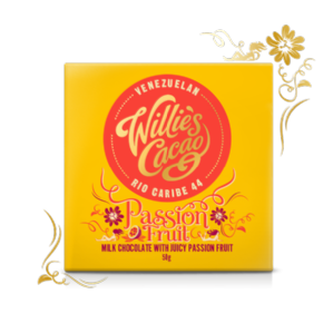 Willie's Cacao Passion Fruit Milk Chocolate 50g